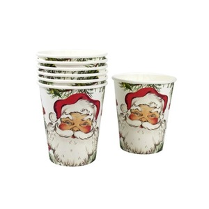 [Talking Tables] Botanical Santa Cups(8pcs)