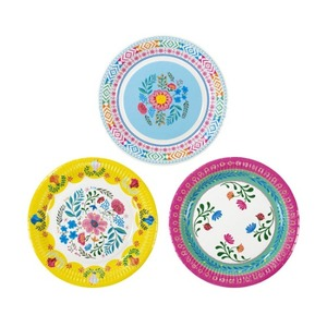 [Talking Tables] Boho Floral Plates(12pcs)