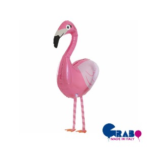 "[헬륨벌룬] Balloon friends_Flamingo 39""(62x63cm/99cm)"