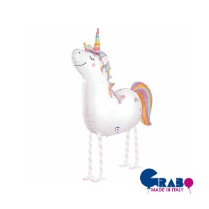"[헬륨벌룬] Balloon friends_Unicorn 38""(78x67cm/H97cm)"