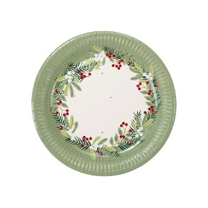 [Talking Tables] Botanical Berry Plates(8pcs)