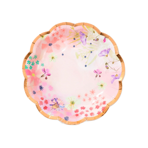 [Talking Tables] Blossom Party Plates(12pcs)
