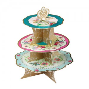 [Talking table] Afternoon Tea Cake Stand