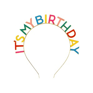 [Talking Tables] Birthday Headband_Rainbow